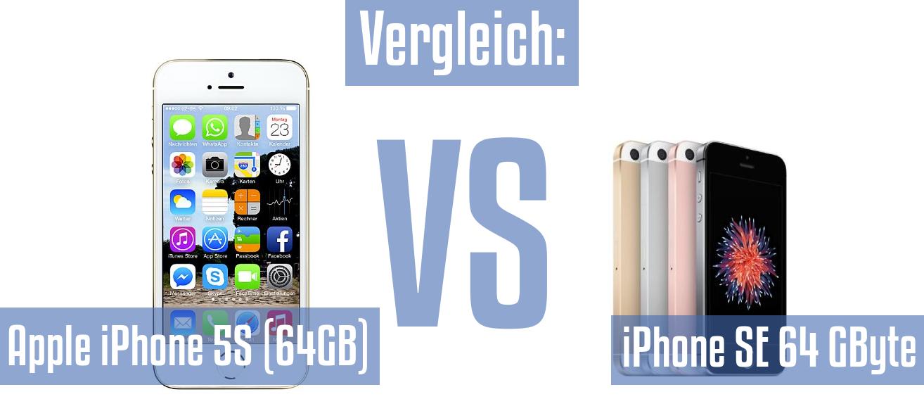 apple iphone 5s se vergleich