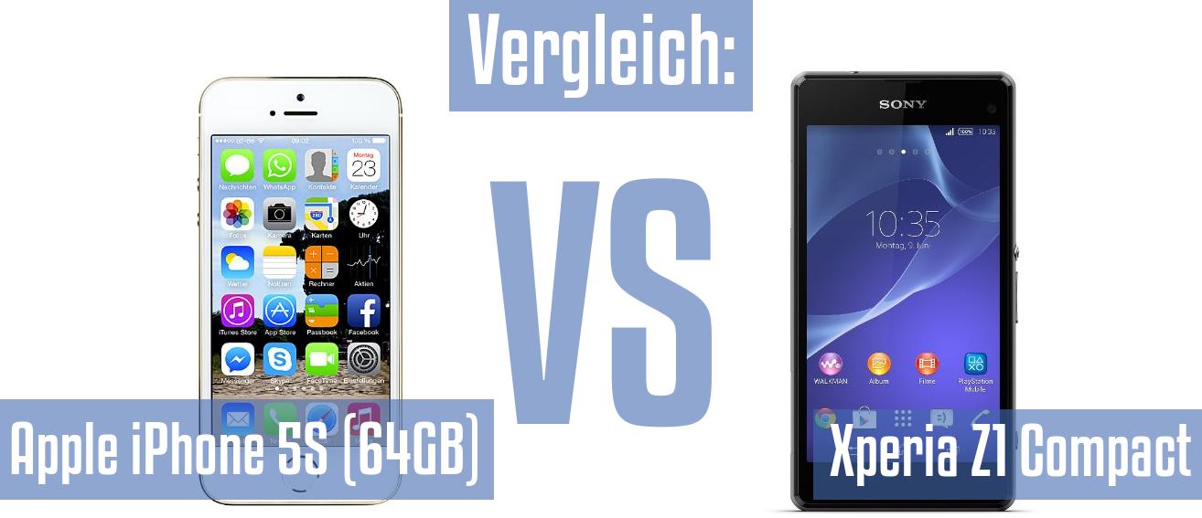 vergleich sony xperia z5 und iphone s7 plus