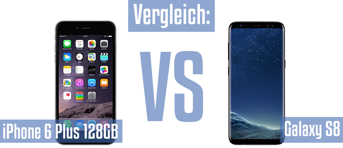 Apple iPhone 6 Plus 128GB und Apple iPhone 6 Plus 128GB im Vergleichstest