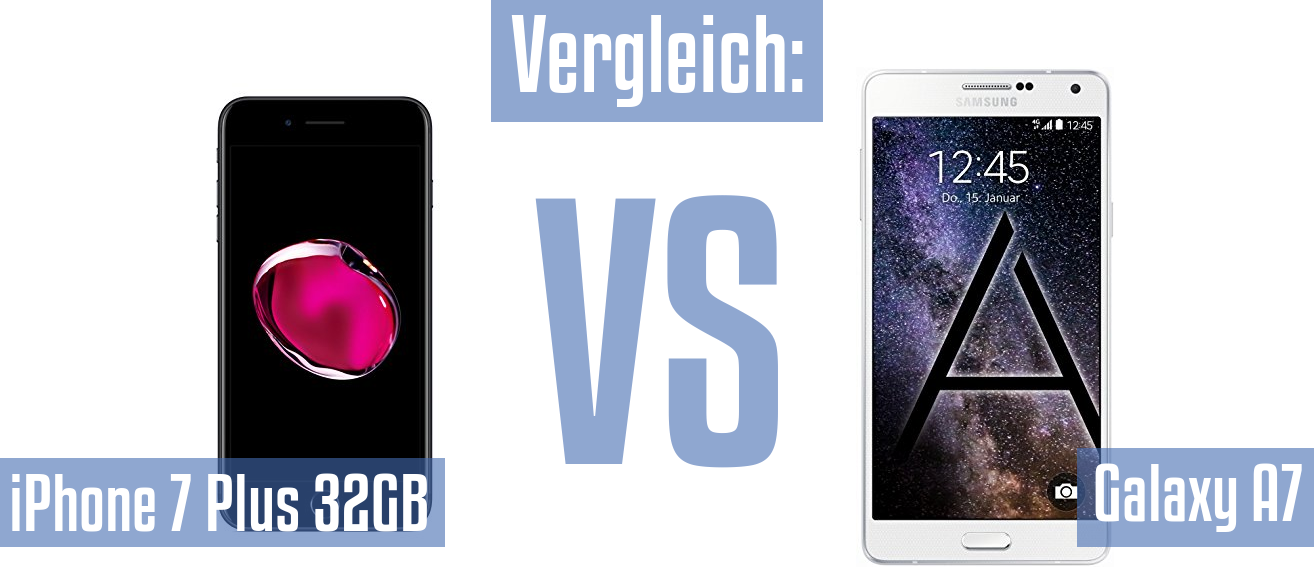 Apple iPhone 7 Plus 32GB und Apple iPhone 7 Plus 32GB im Vergleichstest
