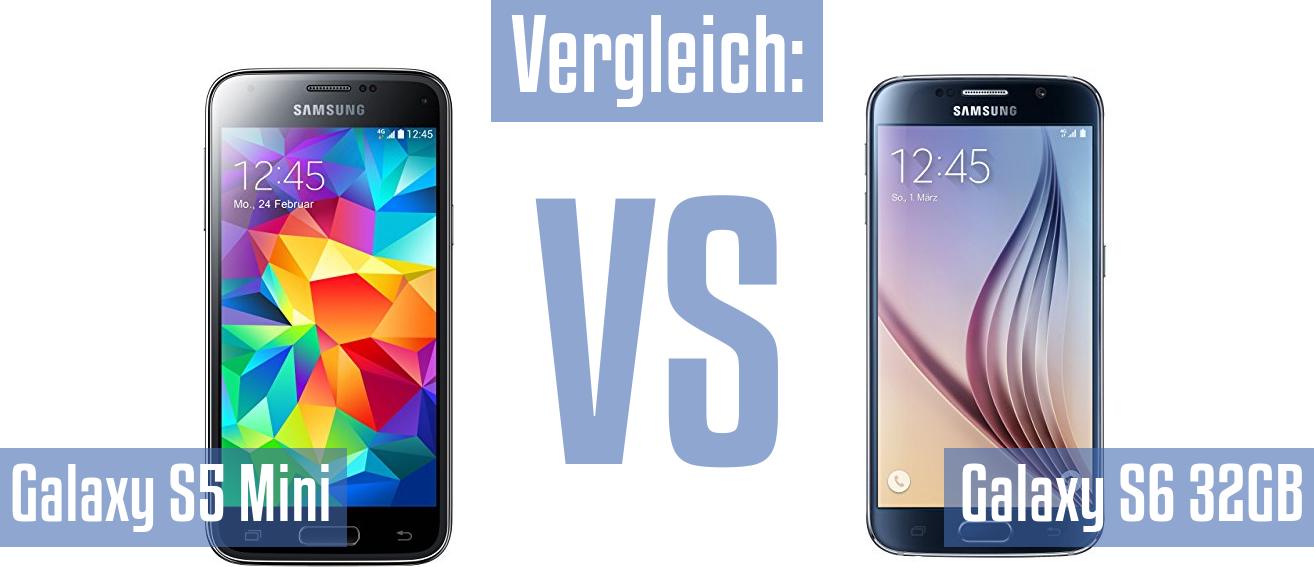 Vergleich Samsung Galaxy S5 Mini Und Samsung Galaxy S6 32gb