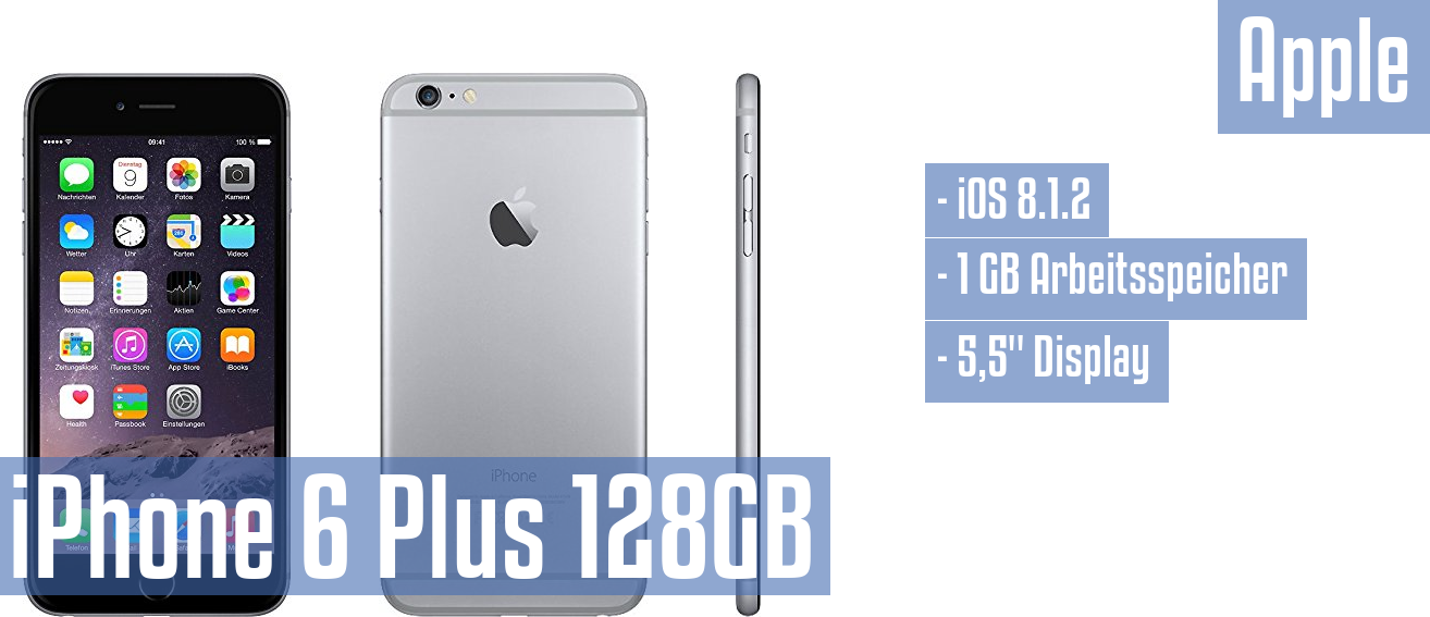 Apple iPhone 6 Plus 128GB im Test