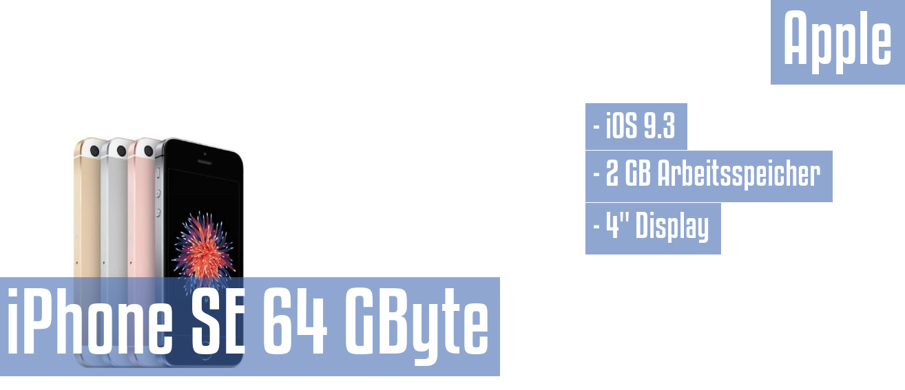 Apple iPhone SE 64 GByte im Test