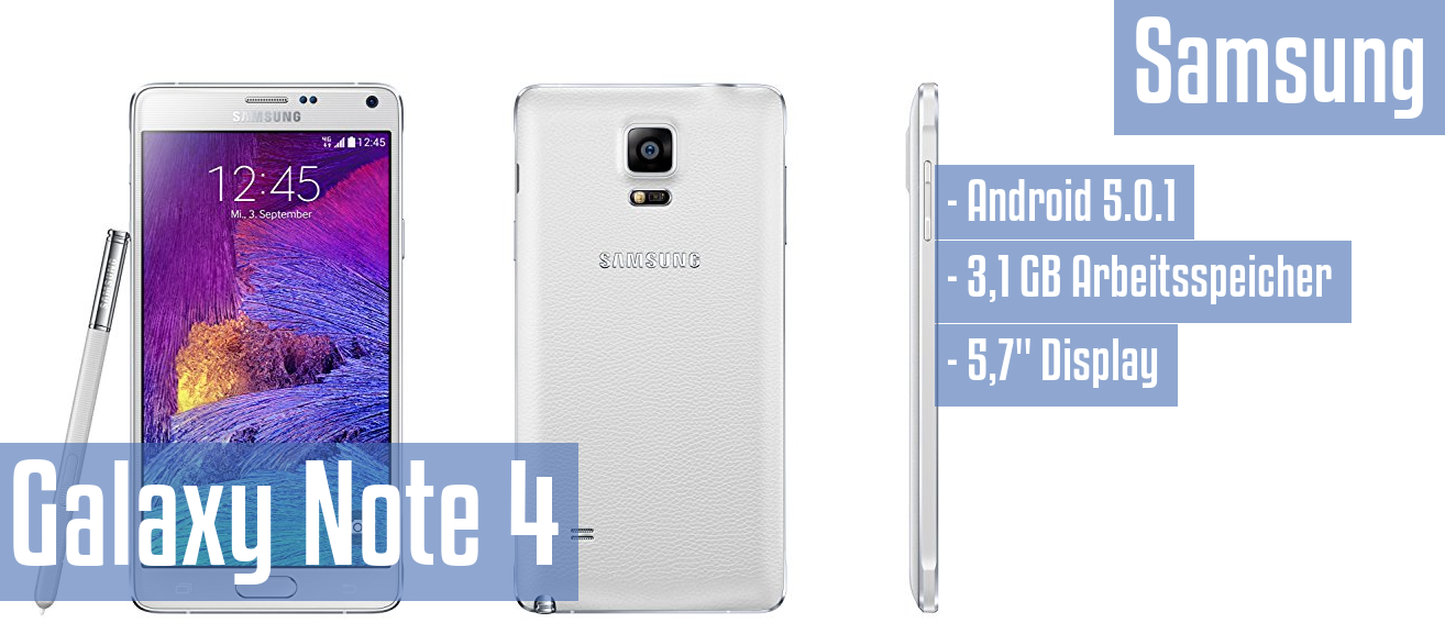 Samsung Galaxy Note 4 im Test