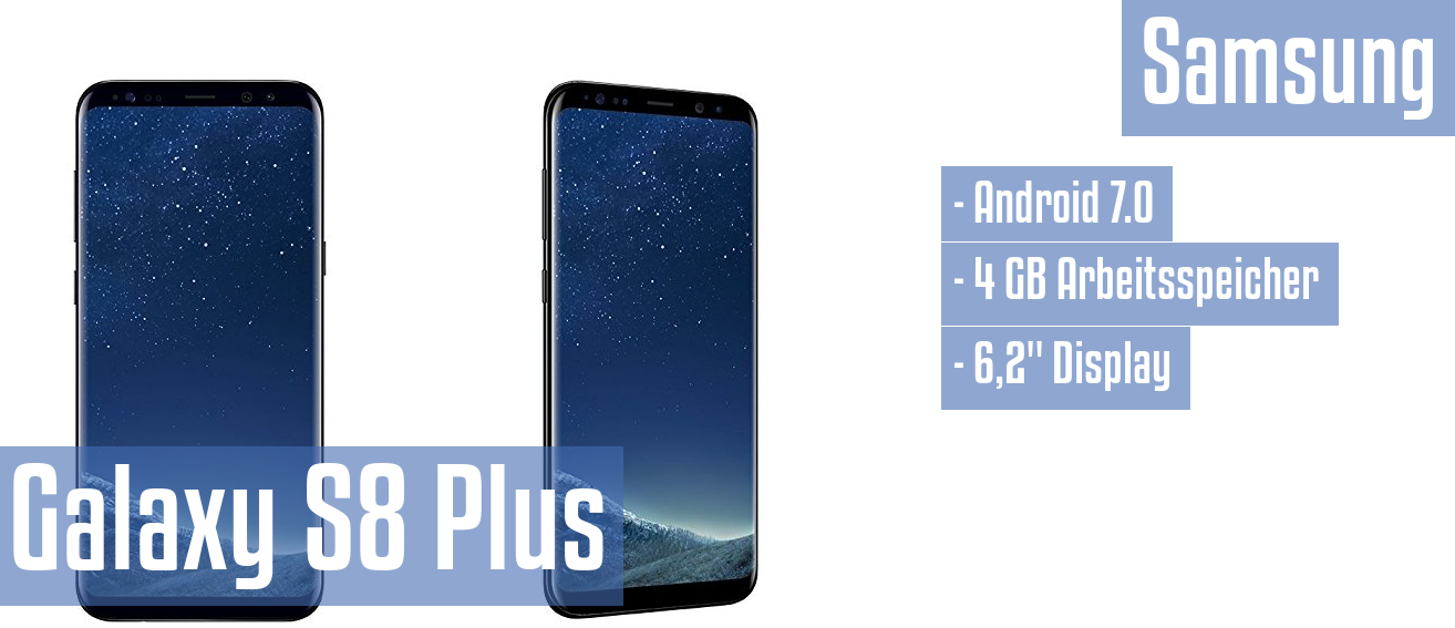 Samsung Galaxy S8 Plus im Test