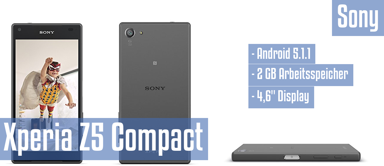 sony xperia z5 compact im test. Black Bedroom Furniture Sets. Home Design Ideas